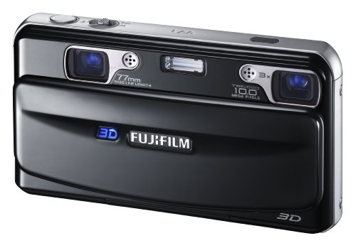FUJIFILM 3Dカメラ FinePix REAL ブラック F FX-3D W1の詳細を見る