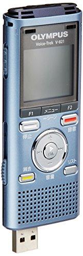 [해외] OLYMPUS IC레코더 VOICETREK 2GB MICROSD대응 MP3/WMA V-821-V-821