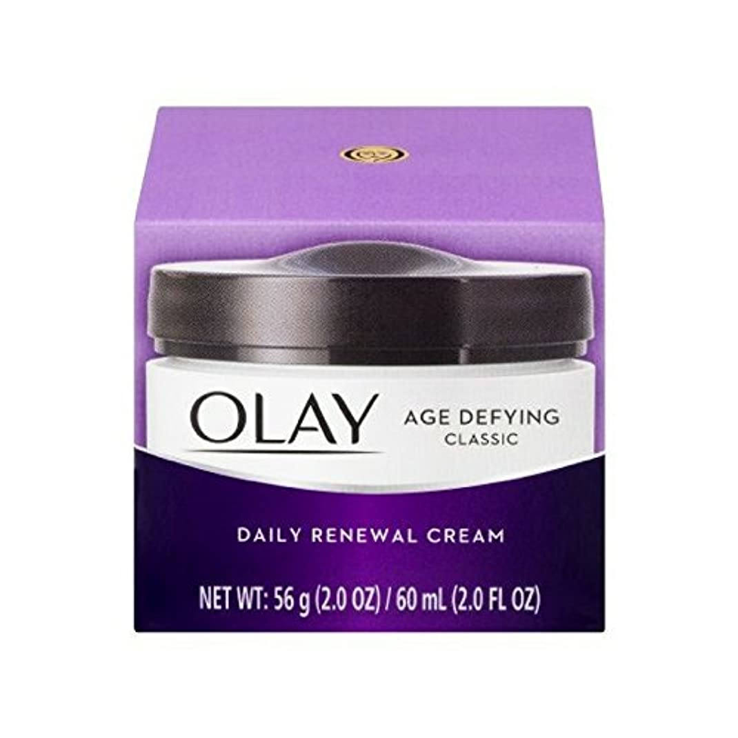 眠いです合金単位Olay Age Defying Daily Renewal Cream With Beta Hydroxy Complex 60 ml (並行輸入品)