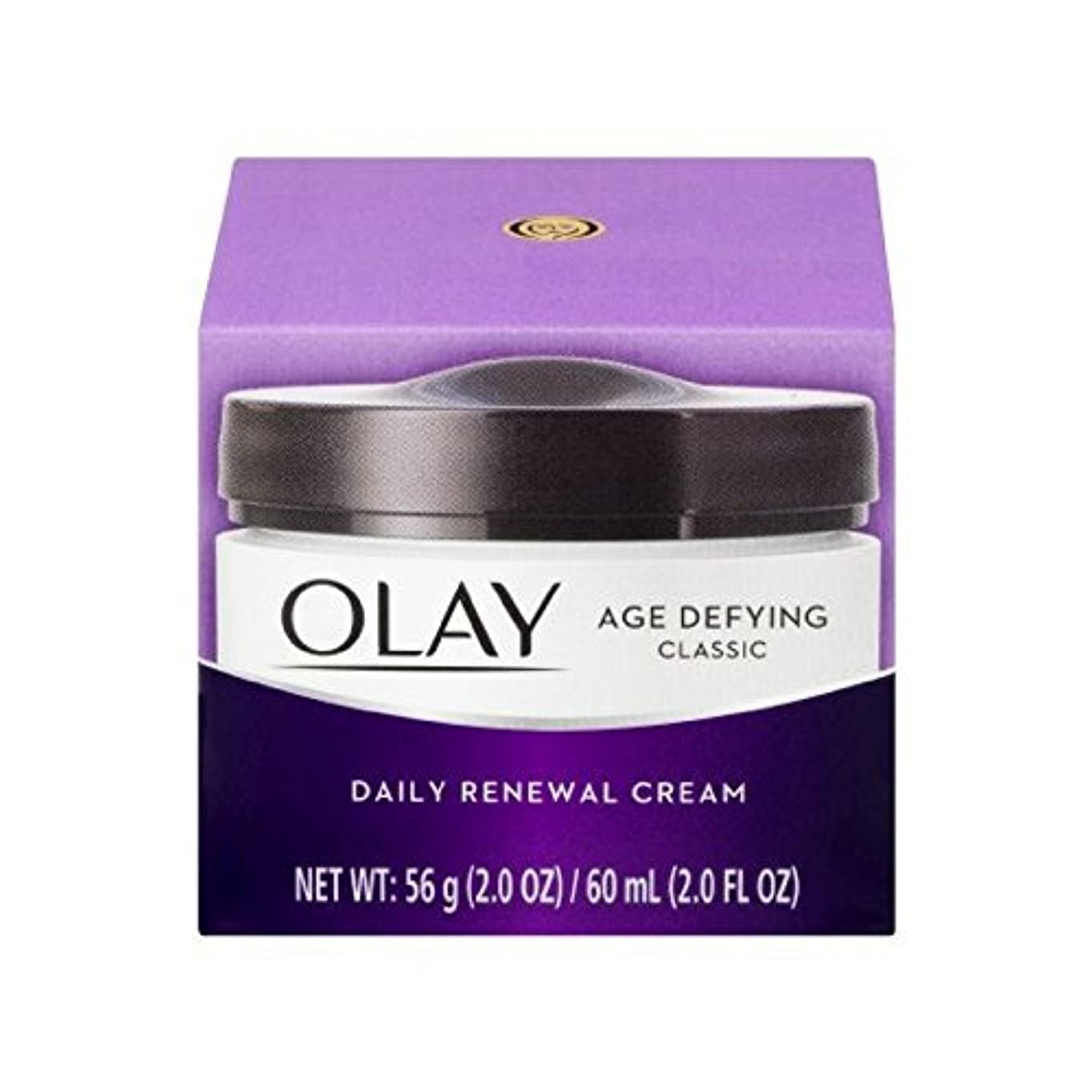 愛されし者扇動即席Olay Age Defying Daily Renewal Cream With Beta Hydroxy Complex 60 ml (並行輸入品)