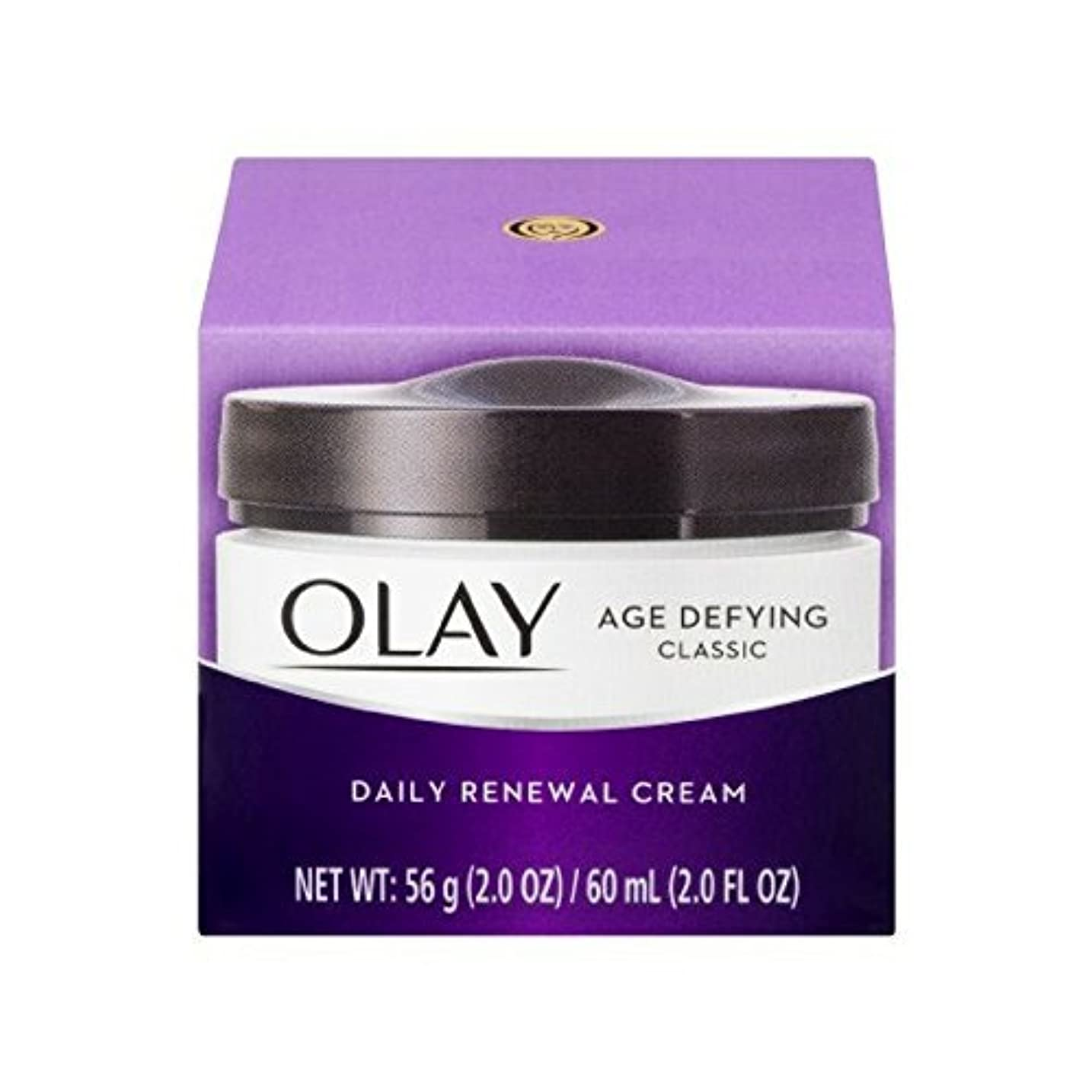 オープナーしない対話Olay Age Defying Daily Renewal Cream With Beta Hydroxy Complex 60 ml (並行輸入品)