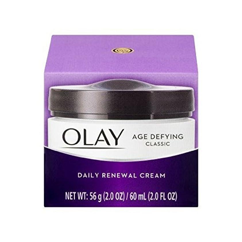 ペインティングノイズの慈悲でOlay Age Defying Daily Renewal Cream With Beta Hydroxy Complex 60 ml (並行輸入品)