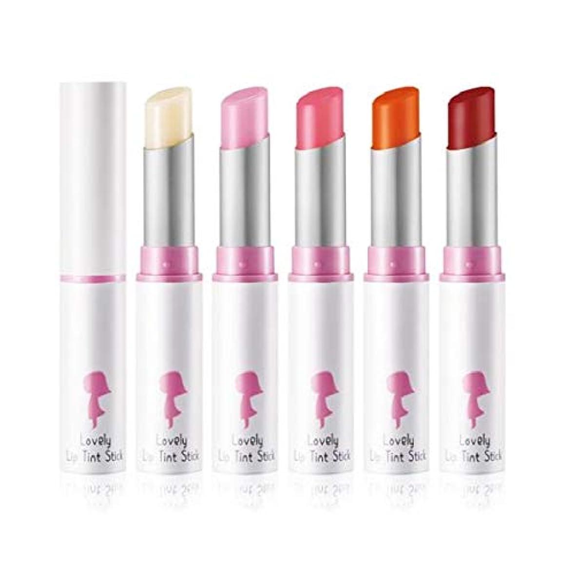 原子ビデオ感じYADAH Lovely Lip Tint Stick #02 Peach Slush 4.3g ラブリーリップティントスティック - 4.3g #2ピーチスラッシュ[並行輸入品]