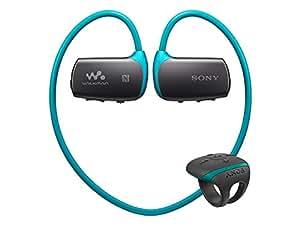 ソニー SONY ヘッドホン一体型ウォークマン Wシリーズ NW-WS615 : 16GB スポーツ用 防水対応 Bluetooth/NFC対応 リングタイプリモコン付属 ブルー NW-WS615 L
