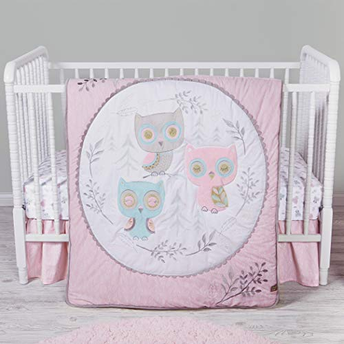 Trend Lab Feathered Friends 3 Piece Crib Bedding Set/Nursery/Baby Bedding