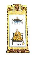 ◆掛け軸◆ 手書き風掛軸 『バラ売り』 真言宗 50代[高さ32cm] 脇掛右 弘法大師