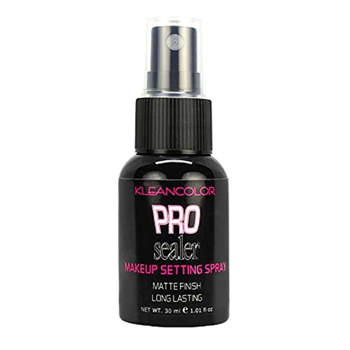 新しい意味滑り台残酷なKLEANCOLOR Pro Sealer Makeup Setting Spray - Matte Finish (並行輸入品)