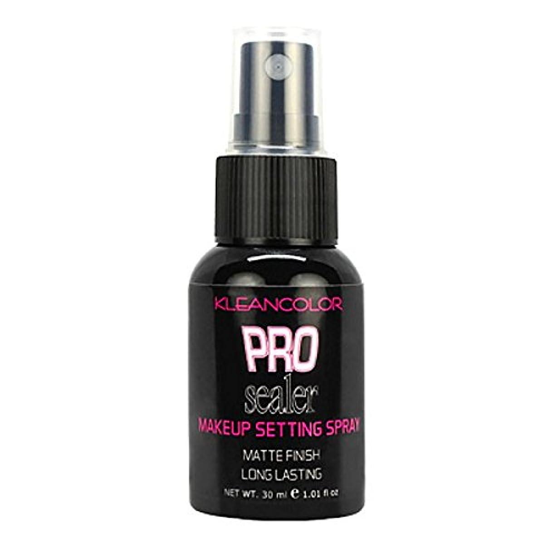 超えてピーブ引き算(6 Pack) KLEANCOLOR Pro Sealer Makeup Setting Spray - Matte Finish (並行輸入品)