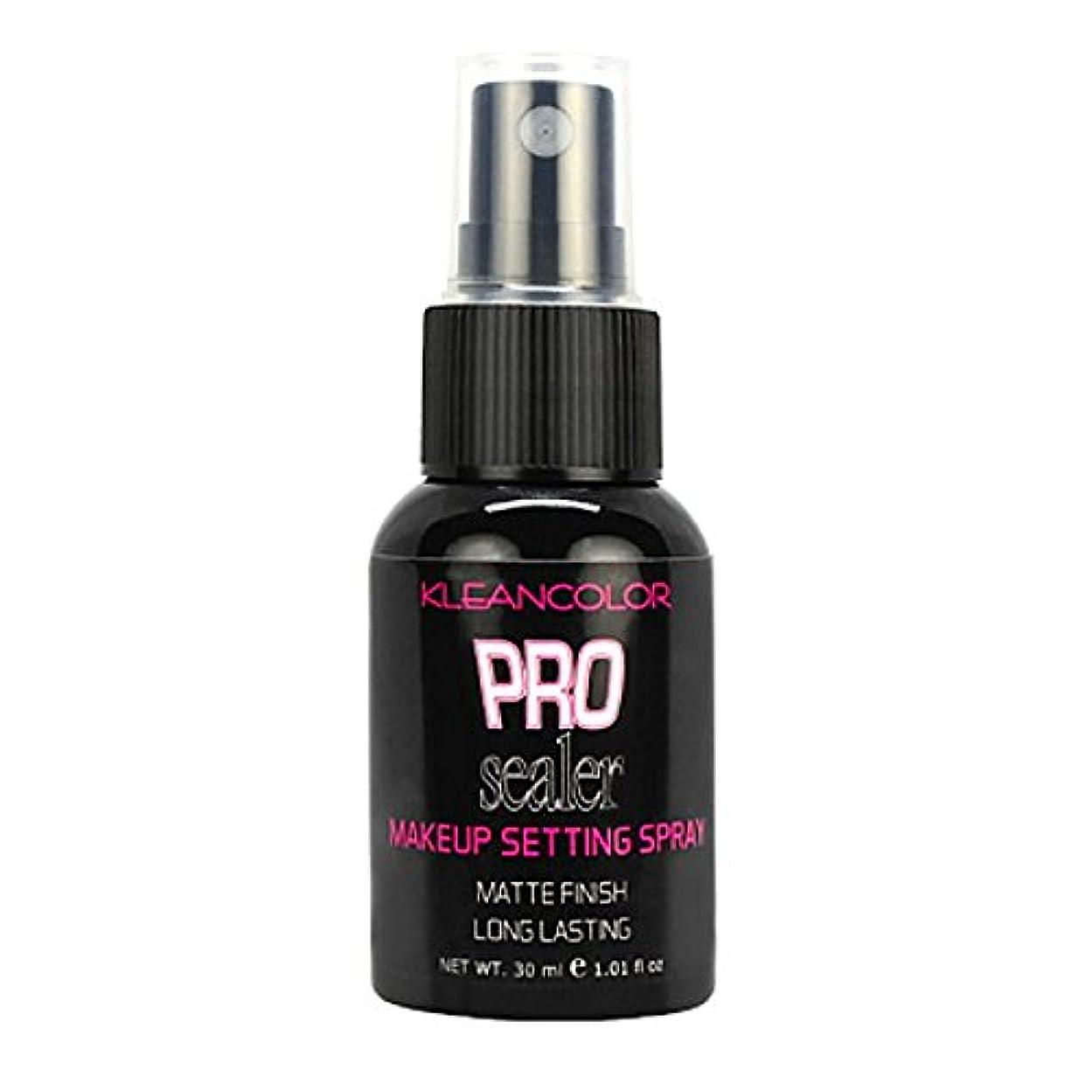 女の子虚弱危険にさらされている(6 Pack) KLEANCOLOR Pro Sealer Makeup Setting Spray - Matte Finish (並行輸入品)