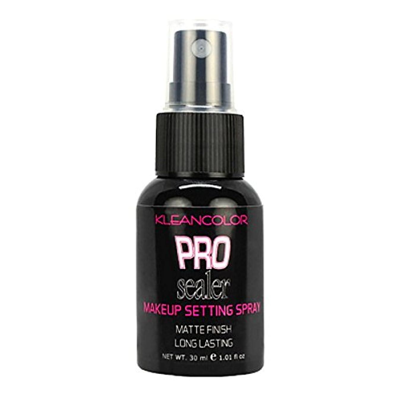 介入する傾斜の間でKLEANCOLOR Pro Sealer Makeup Setting Spray - Matte Finish (並行輸入品)