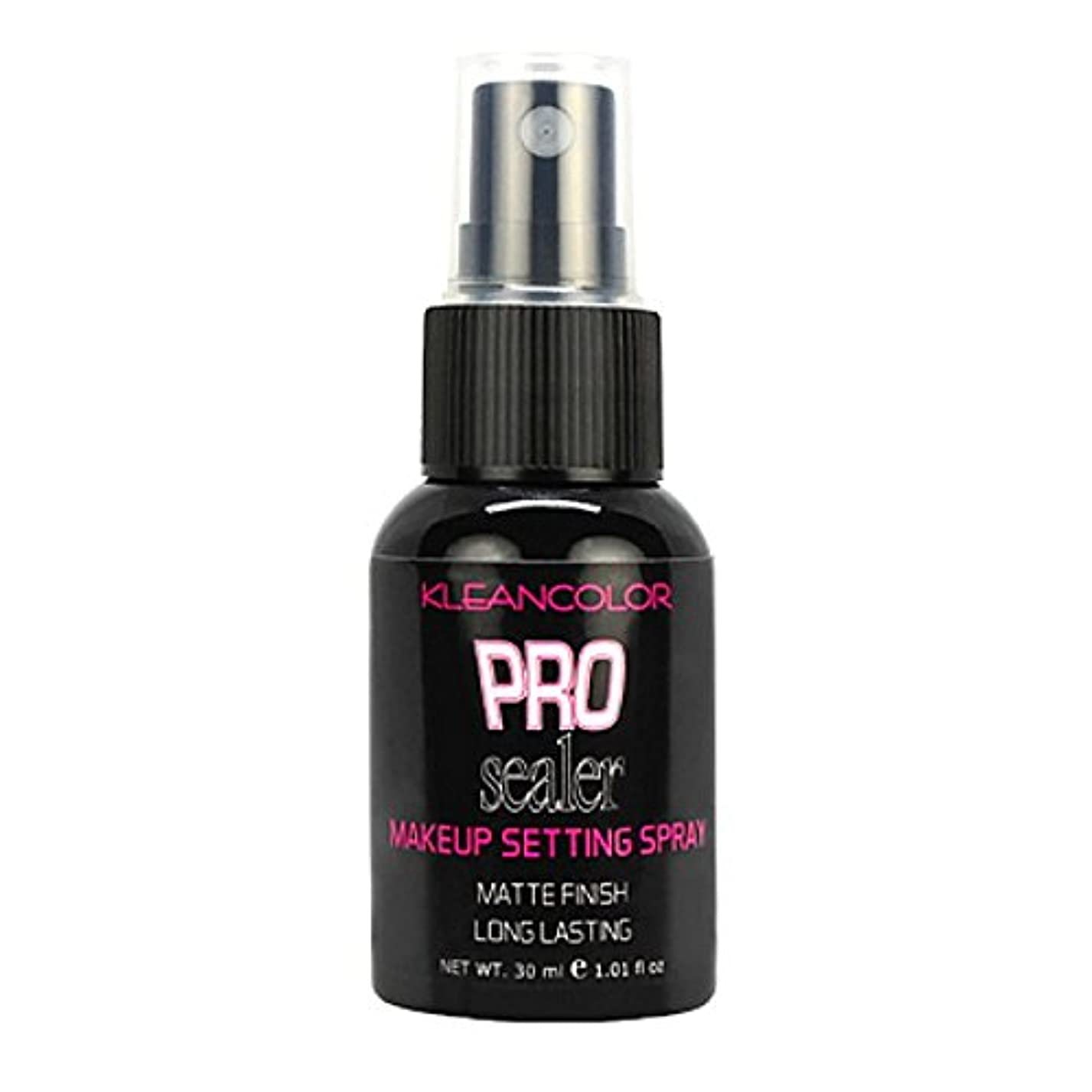 整理する抵抗力があるスキャンダル(6 Pack) KLEANCOLOR Pro Sealer Makeup Setting Spray - Matte Finish (並行輸入品)