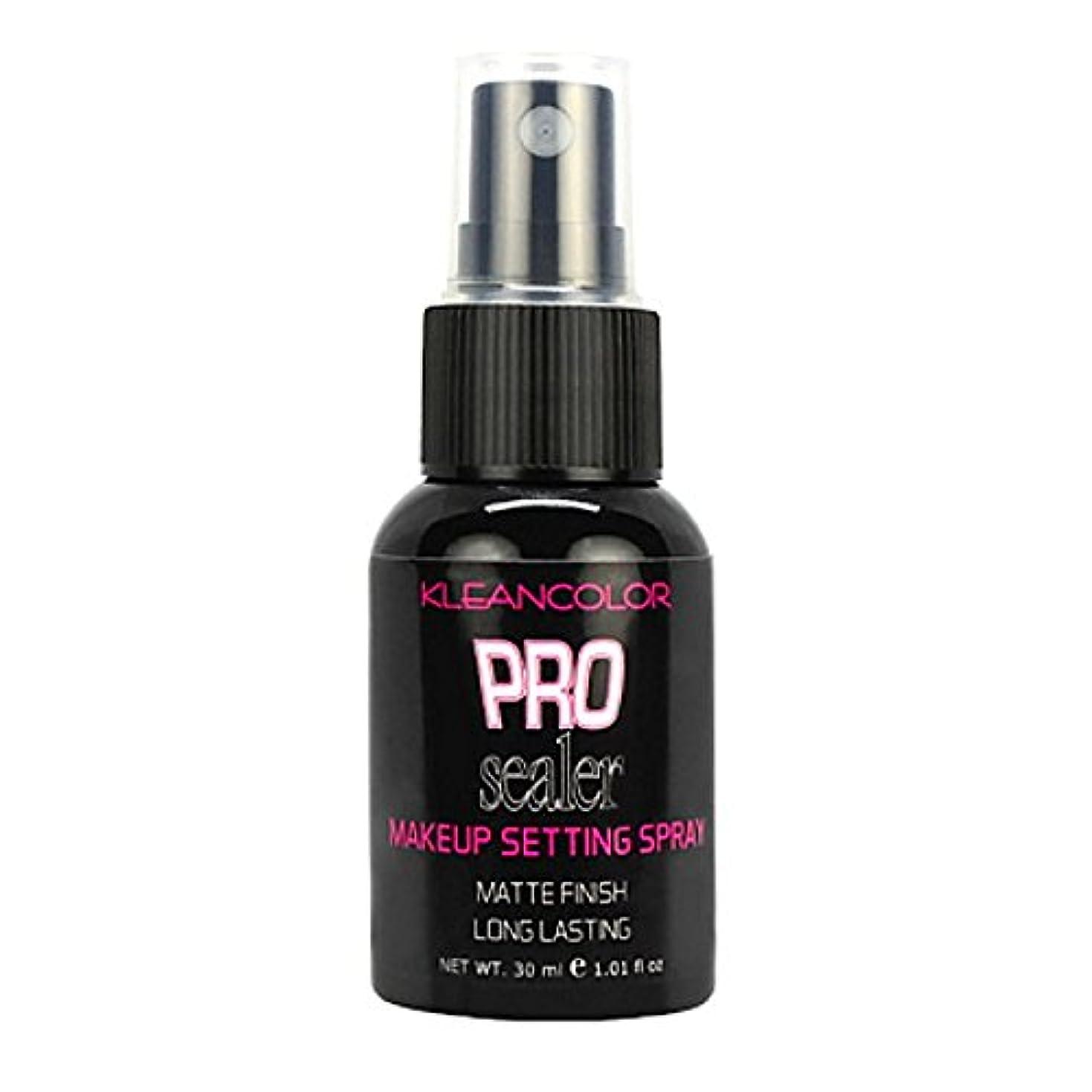 秋とんでもない保護するKLEANCOLOR Pro Sealer Makeup Setting Spray - Matte Finish (並行輸入品)