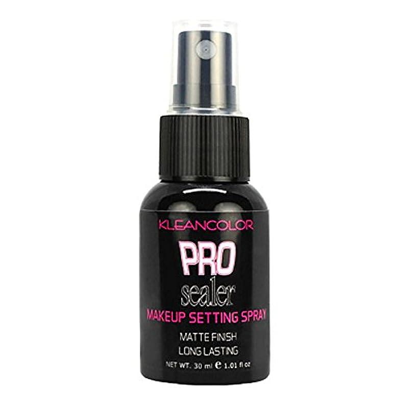 一見ウォルターカニンガムバンケット(6 Pack) KLEANCOLOR Pro Sealer Makeup Setting Spray - Matte Finish (並行輸入品)