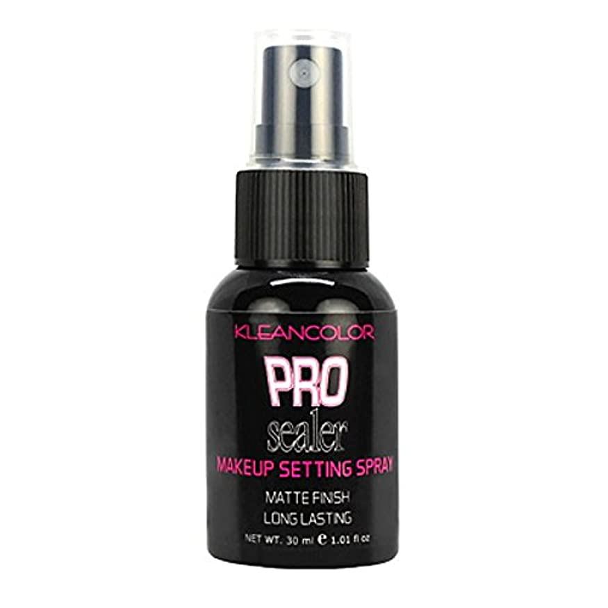 悩み交響曲セットアップKLEANCOLOR Pro Sealer Makeup Setting Spray - Matte Finish (並行輸入品)