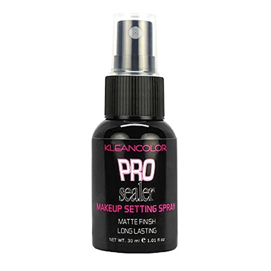神秘マッサージ甲虫(6 Pack) KLEANCOLOR Pro Sealer Makeup Setting Spray - Matte Finish (並行輸入品)