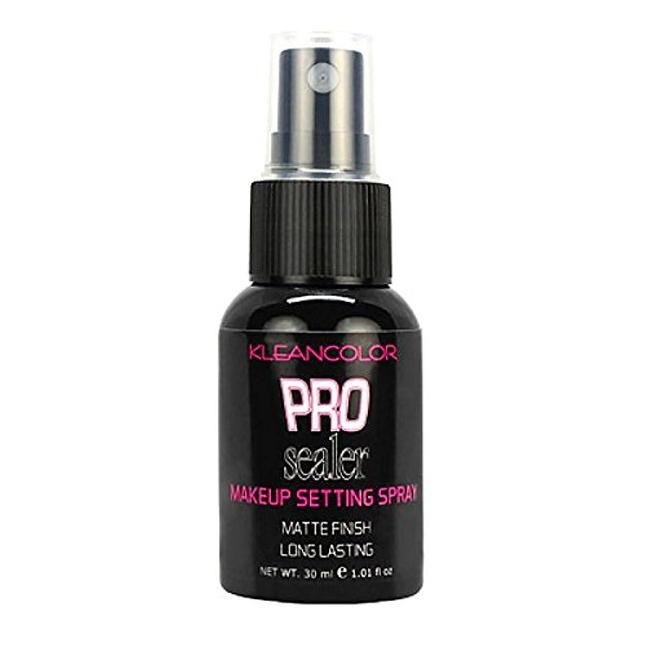 主観的聞きます甘美な(6 Pack) KLEANCOLOR Pro Sealer Makeup Setting Spray - Matte Finish (並行輸入品)