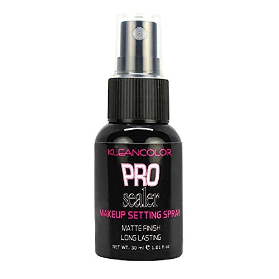 歩き回る悪質な本能KLEANCOLOR Pro Sealer Makeup Setting Spray - Matte Finish (並行輸入品)