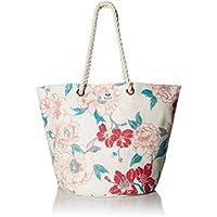 Roxy womens ERJBT03137 Sunseeker Tote Bag Messenger Bags - beige - 1SZ