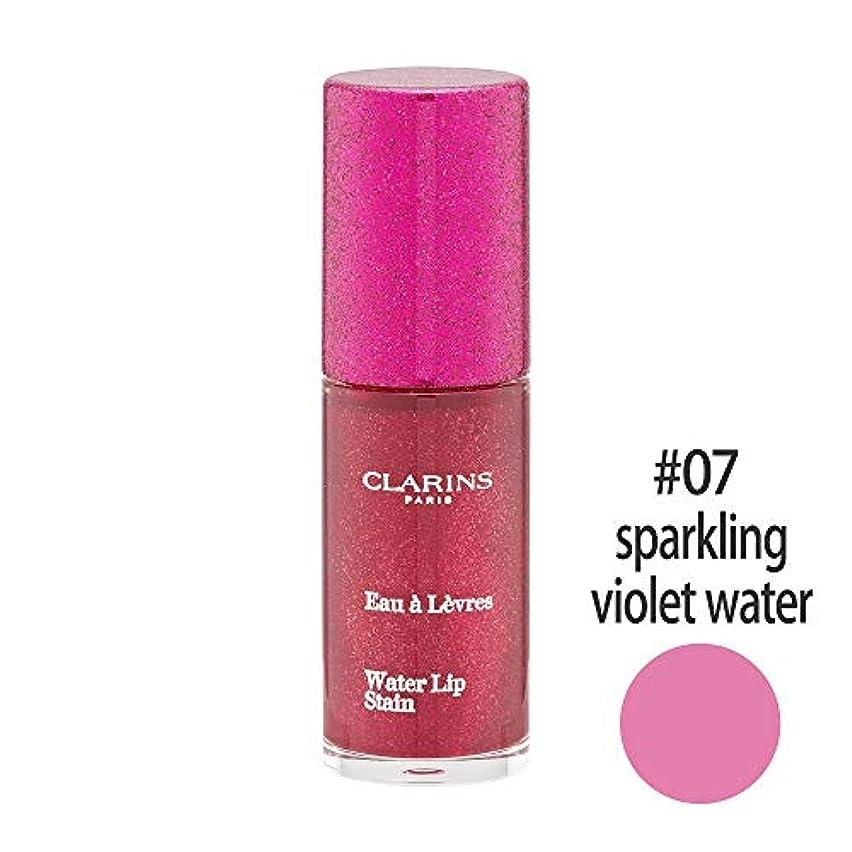 予報無効教育するクラランス(CLARINS) ウォーターリップ ステイン #07(sparkling violet water) [並行輸入品]