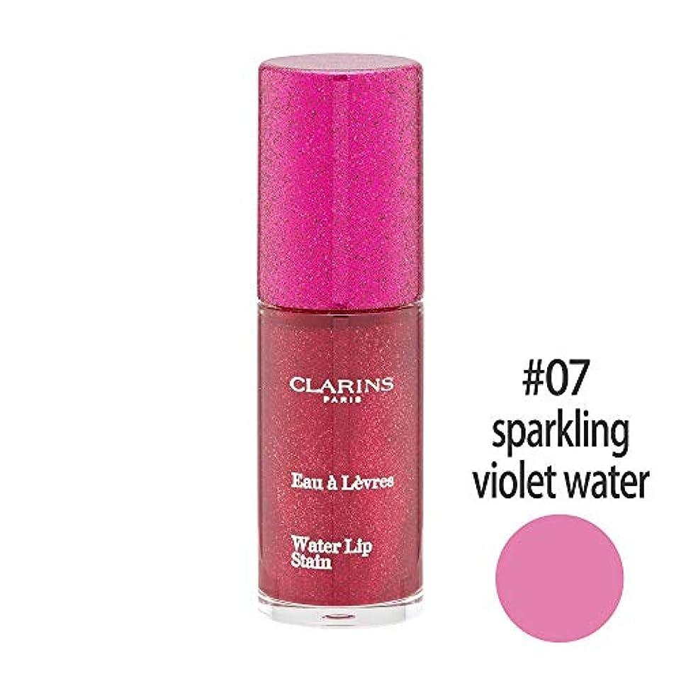 歴史謝るしょっぱいクラランス(CLARINS) ウォーターリップ ステイン #07(sparkling violet water) [並行輸入品]