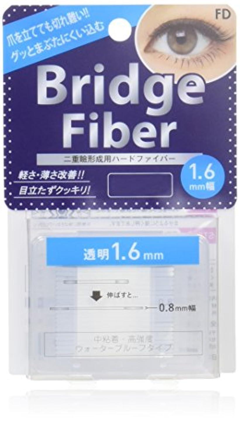 乱暴な天国健康エフディ ブリッジファイバーII クリア 1.6mm