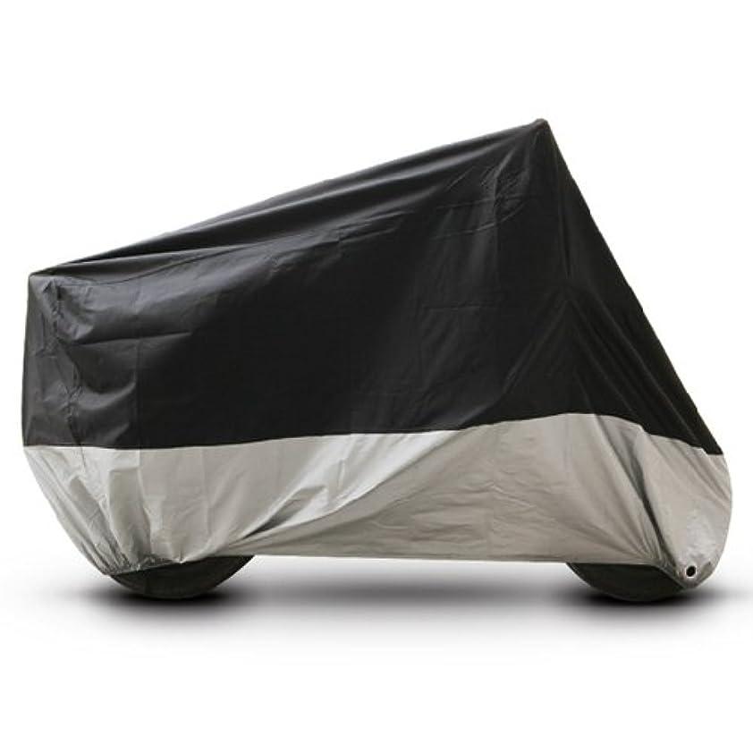 軽蔑する霧天のブラック シルバー オートバイカバー ホンダ ゴールドウィング 1500 1800 ツーリング UV 防塵 XXL
