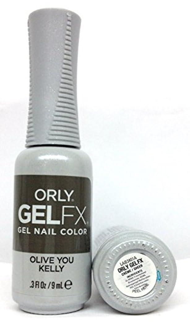 保護ひねくれたバルクORLY GelFX - The New Neutral Collection - Olive You Kelly - 9 ml / 0.3 oz