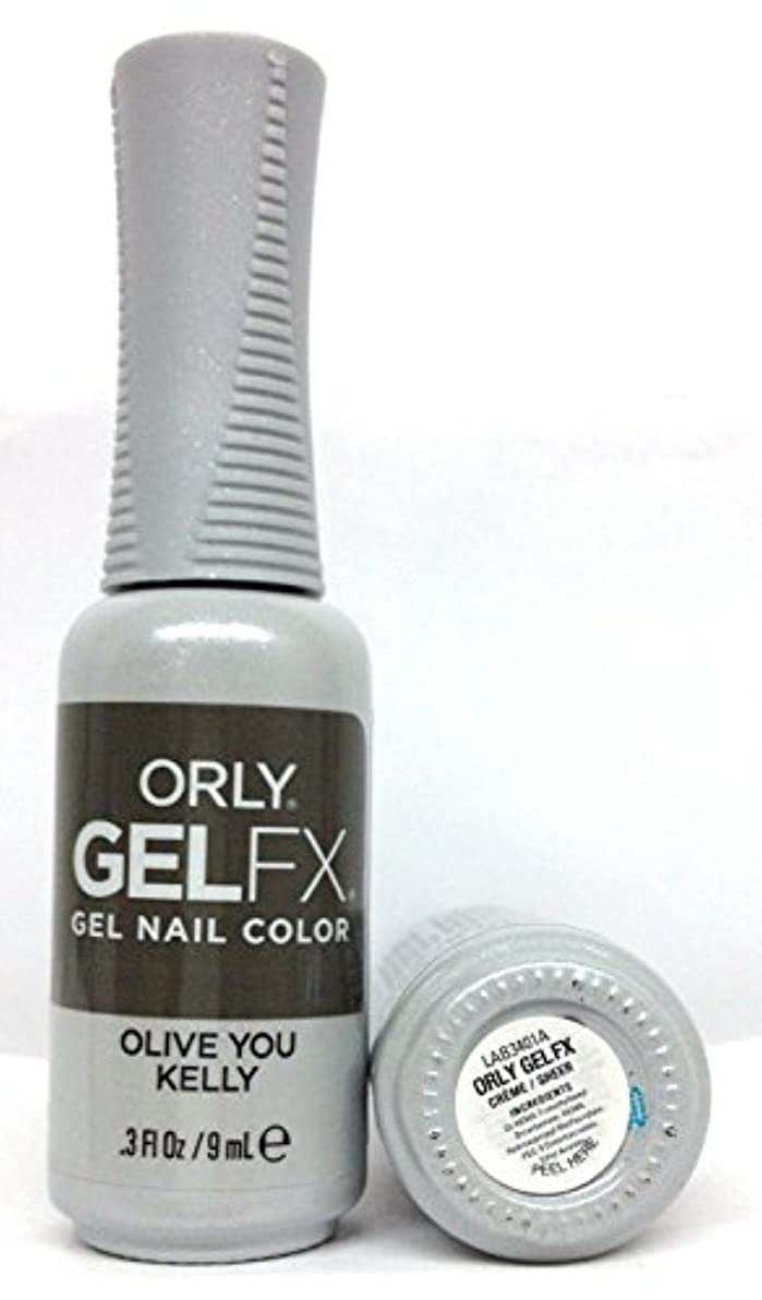 再発する後継テクスチャーORLY GelFX - The New Neutral Collection - Olive You Kelly - 9 ml / 0.3 oz
