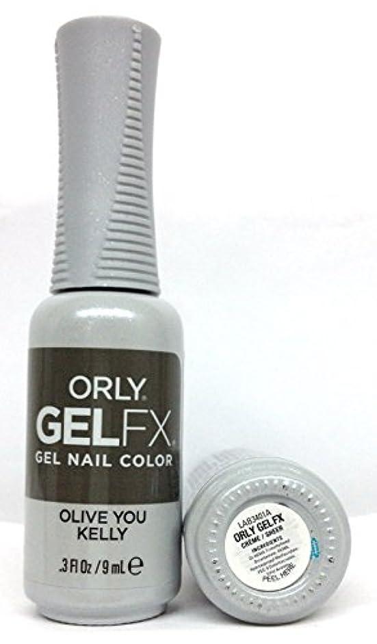 プレフィックス寝室劇作家ORLY GelFX - The New Neutral Collection - Olive You Kelly - 9 ml / 0.3 oz