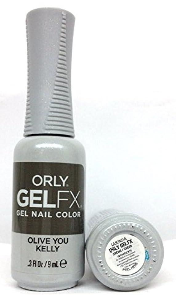許可する外交官フォアマンORLY GelFX - The New Neutral Collection - Olive You Kelly - 9 ml / 0.3 oz