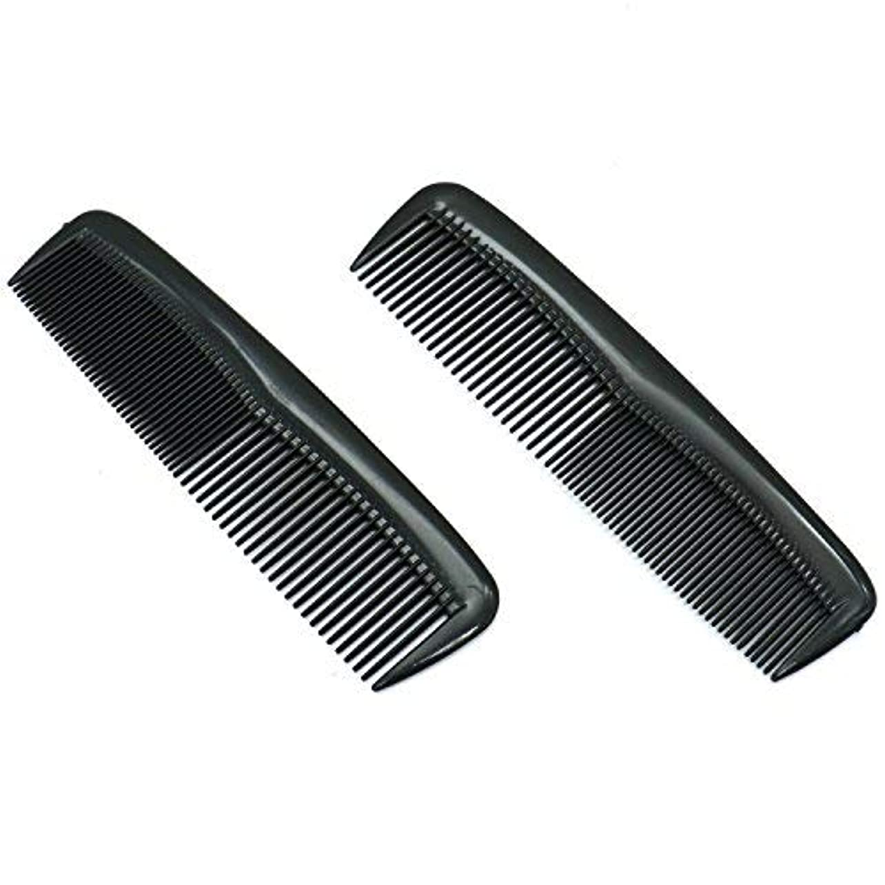 絡み合い投げ捨てる乗り出すBuorsa Pack of 12 Quality Pocket Hair Comb Beard & Mustache Combs for Men's Hair Beard Mustache and Sideburns,...