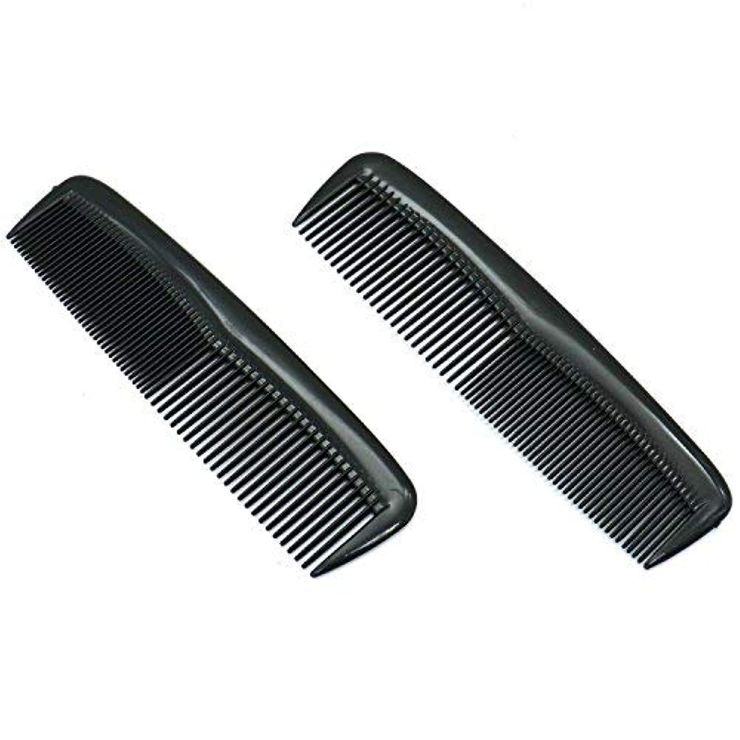 バーチャル世辞偶然Buorsa Pack of 12 Quality Pocket Hair Comb Beard & Mustache Combs for Men's Hair Beard Mustache and Sideburns,...