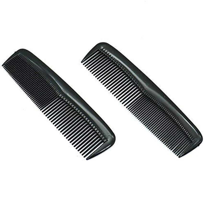 火かすれた従事したBuorsa Pack of 12 Quality Pocket Hair Comb Beard & Mustache Combs for Men's Hair Beard Mustache and Sideburns,...