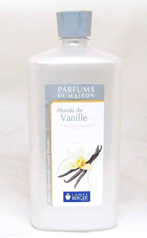 不誠実セラーしなやかなランプベルジェ フランス版 1000ml アロマオイル バニラ Absolu de Vanille