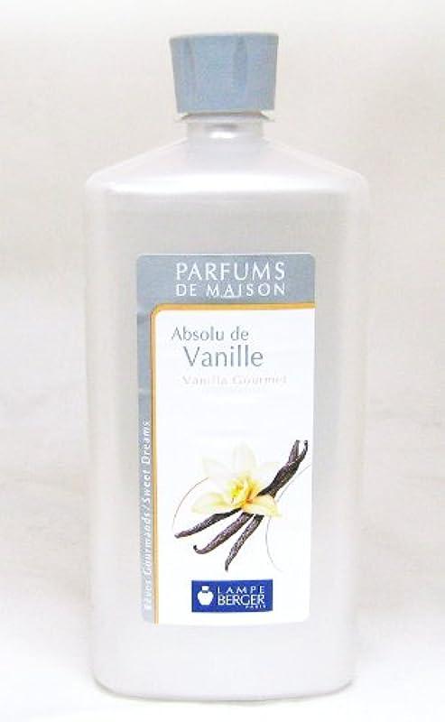 滑る関係ない菊ランプベルジェ フランス版 1000ml アロマオイル バニラ Absolu de Vanille