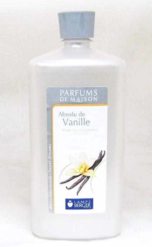 課す証拠階段ランプベルジェ フランス版 1000ml アロマオイル バニラ Absolu de Vanille