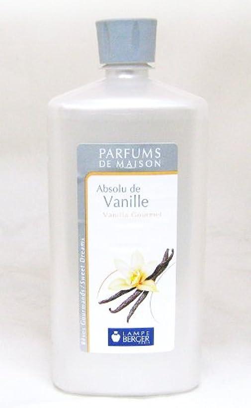 シリアル性的バケットランプベルジェ フランス版 1000ml アロマオイル バニラ Absolu de Vanille