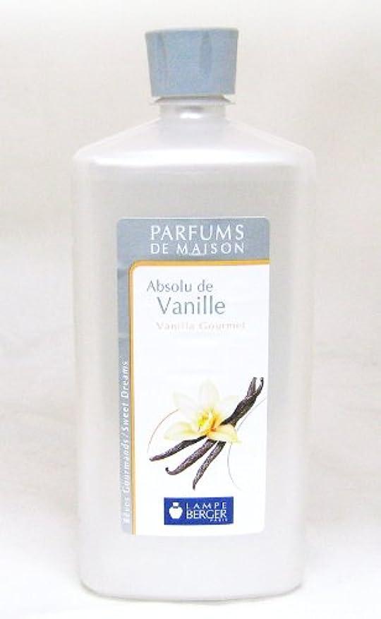 主張再開何十人もランプベルジェ フランス版 1000ml アロマオイル バニラ Absolu de Vanille
