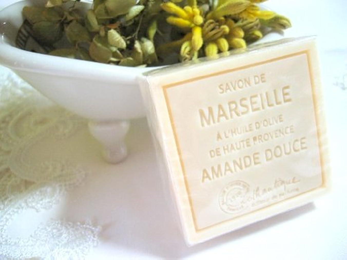 豆梨充電Lothantique(ロタンティック) Les savons de Marseille(マルセイユソープ) マルセイユソープ 100g 「アーモンド」 3420070038111