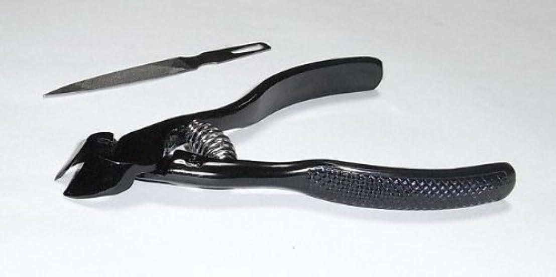 顎提供する。爪切ニッパー(ブラック)