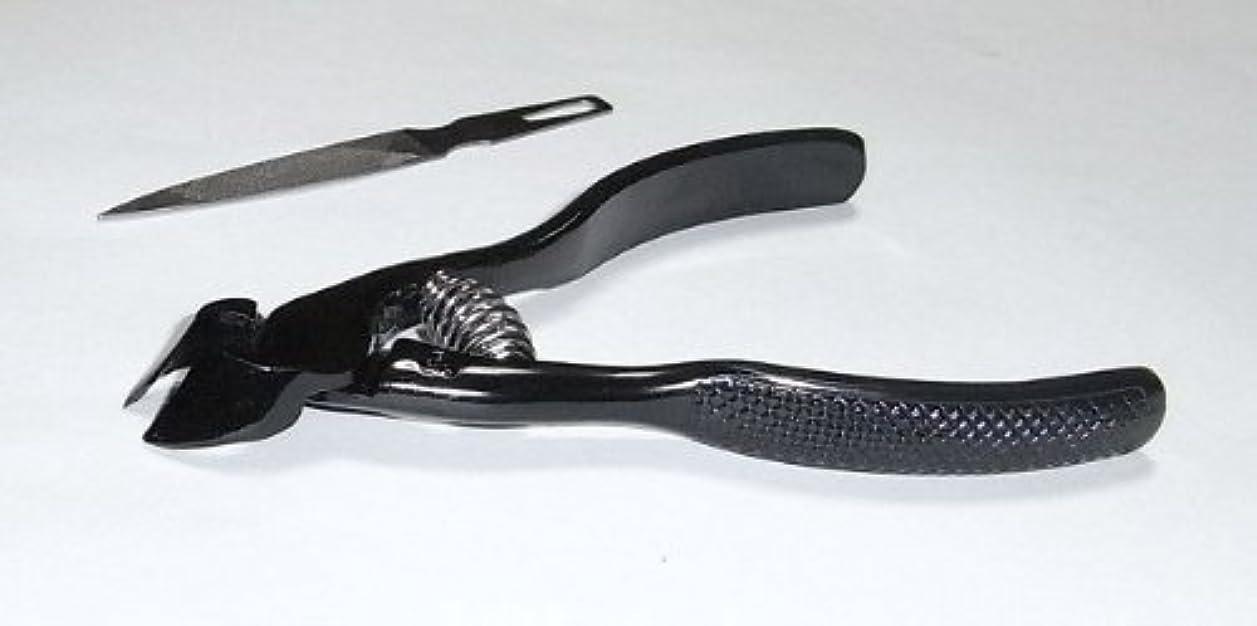 スコア恐怖症電気技師爪切ニッパー(ブラック)