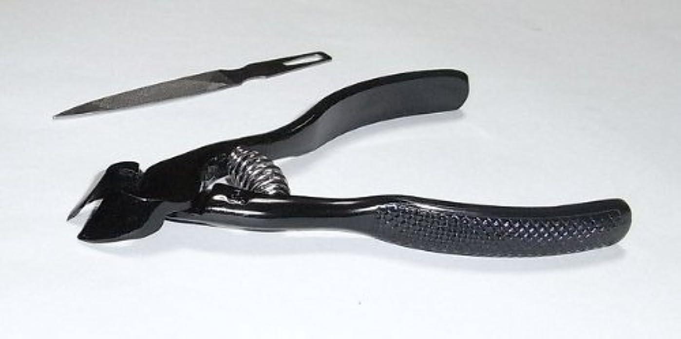 中世の簿記係ペン爪切ニッパー(ブラック)