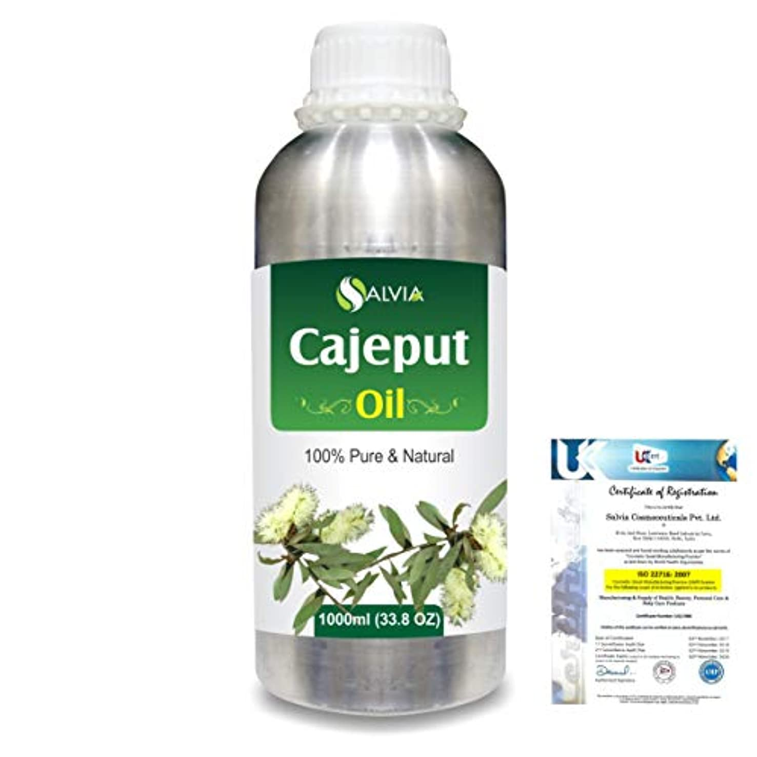 おもてなし手首バリケードCajeput (Melaleuca leucadendron) 100% Natural Pure Essential Oil 1000ml/33.8fl.oz.