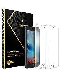 【2枚セット】Anker KARAPAX GlassGuard iPhone 8   7 用 強化ガラス液晶保護フィルム【3D Touch対応   硬度9H   飛散防止】 …