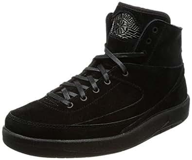 [ナイキ ジョーダン] AIR Jordan 2 Retro Decon 897521 ブラック/ブラック 25.5 cm