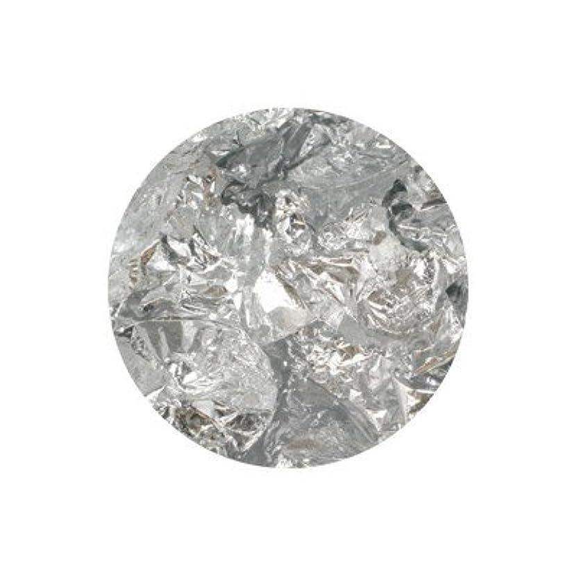 見落とすエンゲージメント地区ボンネイル 銀箔