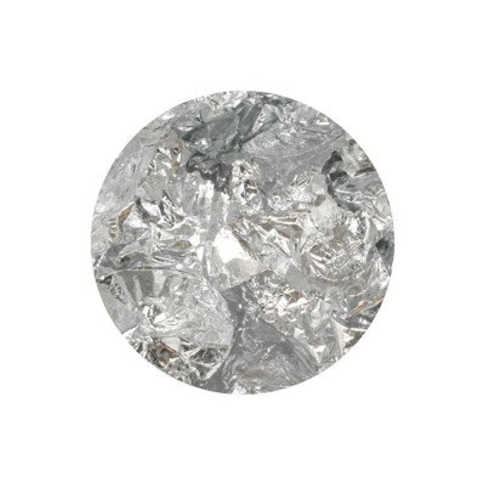 フォアタイプ青シェーバーボンネイル 銀箔