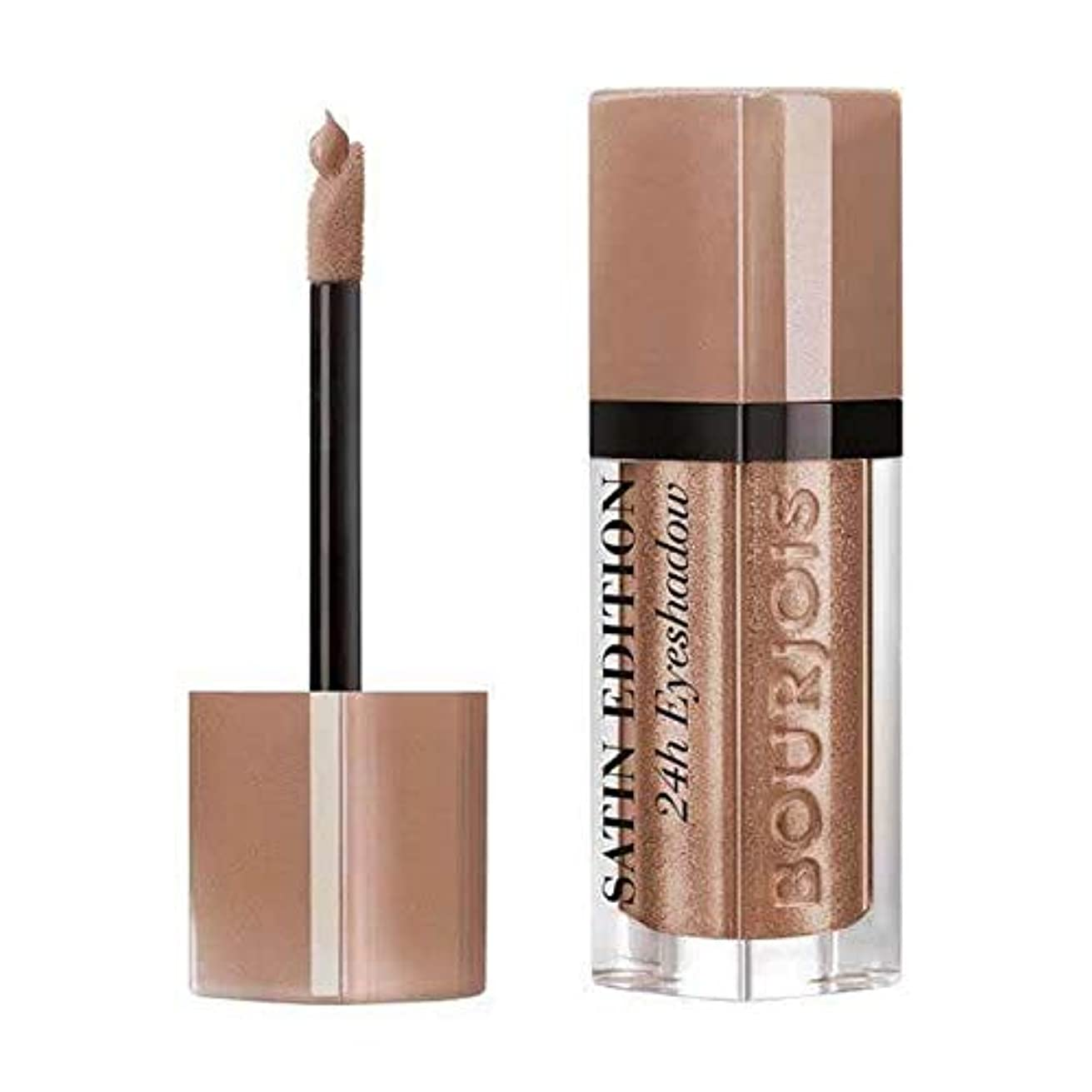 旋律的適性服[Bourjois ] 液体アイシャドウAbracada'Brown 24時間ブルジョワサテン版 - Bourjois Satin Edition 24HR Liquid Eyeshadow Abracada'brown...