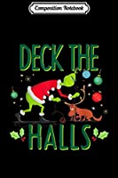 Composition Notebook: The Grinch Deck The Halls  Journal/Notebook Blank Lined Ruled 6x9 100 Pages