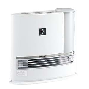 SHARP プラズマクラスター搭載加湿セラミックファンヒーター ホワイト系 HX-B120-W